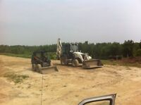 Clean fill dump sites west and north