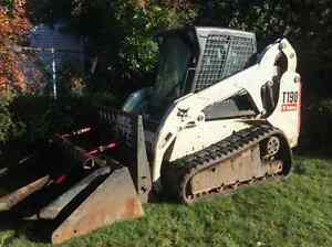Bobcat T-190 with 3 attachments