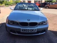 BMW 3 Series 318CI Convertible,Full leather