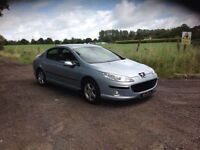 24/7 Trade sales NI Trade Prices for the public 2006 Peugeot 407 1.6 HDI Full mot Blue
