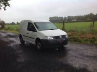 24/7 Trade sales NI Trade Prices for the public 2008 Volkswagen Caddy 2.0 SDI White Full PSV