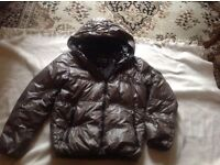 Ladies snow flying jacket puffy size: 10/12 used £4