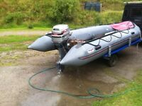 Avon sports inflatable boat 4.6M