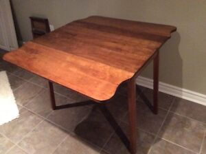 Old drop leaf table