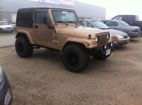 2000 jeep TJ Sahara 4.0l 5-speed