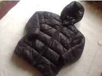 H&M ladies puffy hoodies full zipper size 14 used £4