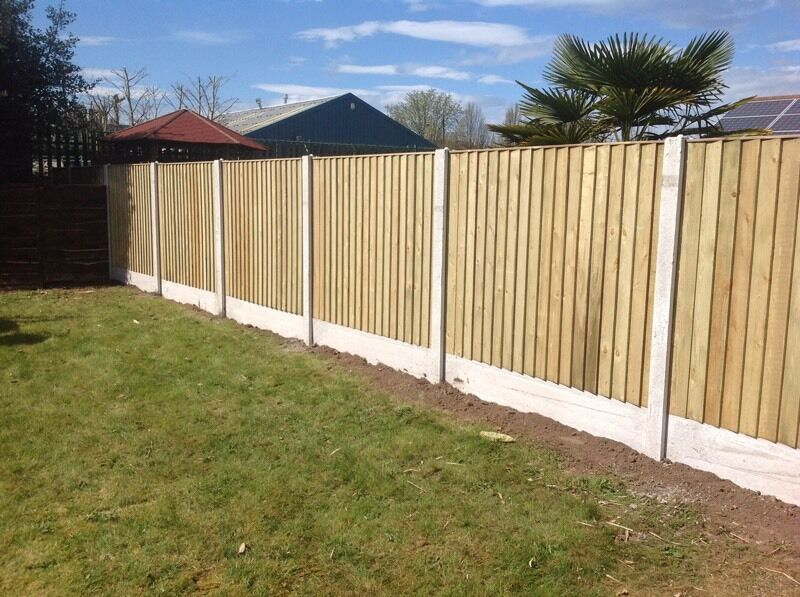 Beautiful Vertical Wood Fence Panels Board Feather Edge Straight Top Tanalised Wooden For Design Ideas
