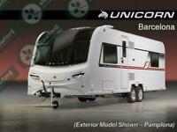 Bailey Unicorn 4 Barcelona, NEW/DISPLAY MODEL, 2019, 4 Berth, Touring Caravan