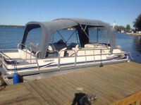 PRINCECRAFT SportFisher Pontoon Boat - 22' - with trailer