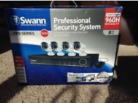 Swann CCTV - 8 channel DVR and 4 cameras