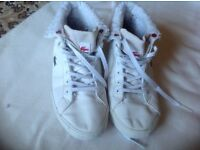 Lacoste ladies trainers size 4/37 used £4