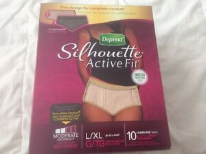 Blooder control underwears & pads for women all brand new Windsor Region Ontario image 1
