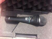 AKG condenser microphone