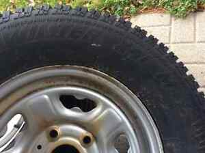 ARTIC CLAWS SNOW TIRES W/RIMS--- 2-ONLY Cambridge Kitchener Area image 5