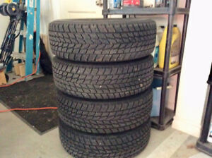 Honda civic winter tires & rims 5 Bolt pattern