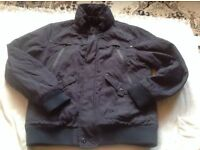 Men's jacket with hoody full zipper size: L Used £2