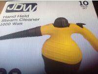 J.D.W.Hand-Held Steam Cleaner 1,000Watt Brand New ( Boxed)