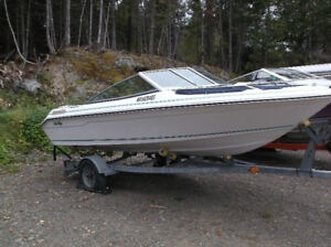 1989 160 searay bow rider speed boat