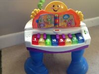 Fisher price grand piano toy