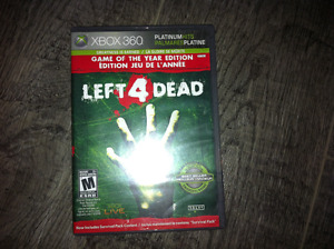 Jeux Left 4 Dead X-box 360