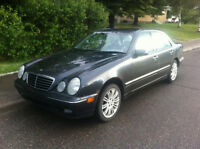 2002 Mercedes Benz E320 4Matic AWD Fully Loaded only 96000 kms