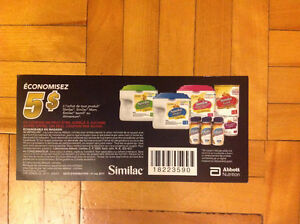 Search coupons or checks Similac London Ontario image 2