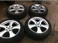 "17"" alloys wheels"