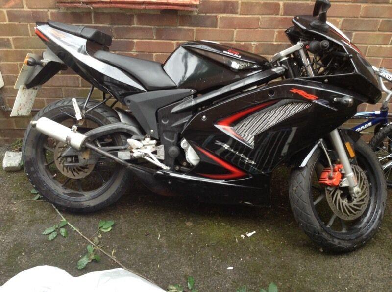 Geared 50cc Motorbike Free Helmet Included In Abingdon