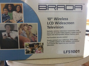 Wireless widescreen TV