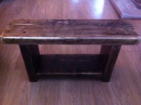 Small Jacobean Rustic Bench