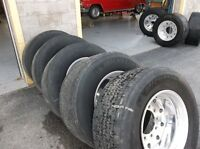 Set of Five Super Single Tires $450