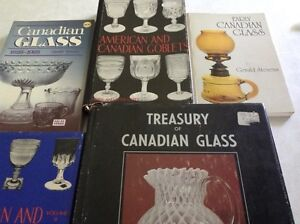Antique Books on Canadian & American Glass