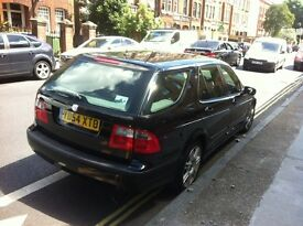 saab 9-5 vector estate automatic petrol with mot until may 2017 no faults i