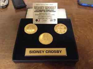 SIDNEY CROSBY MEDALLION COLLECTOR COIN SET $25