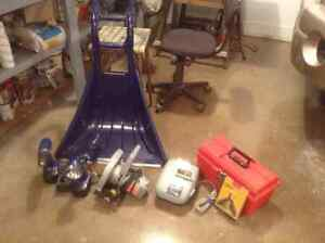 Miscellaneous Tool Items - package deal, will deliver to Regina.