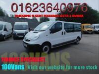 Vauxhall Vivaro 2.0CDTi 115 PS 9 SEAT MINIBUS LWB 1 OWNER F/S/H
