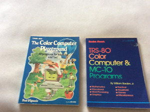 radio shack trs-80 tandy computer books