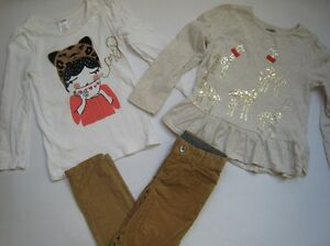EUC, NWT Gymboree Right Meow lots- 4 (twins)