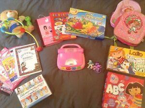 Lot de jouets et livres à vendre