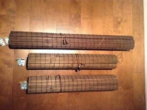 1 Bamboo Blind (38 1/4 inches wide by 64 inches long)