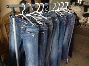 Women's small jeans size 0-3