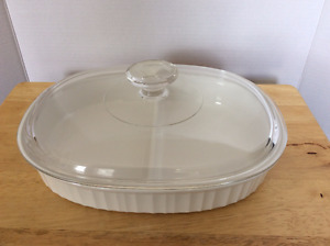 CorningWare divided baking dish