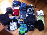 Boys clothes size 7/8 to 10/12 large lot