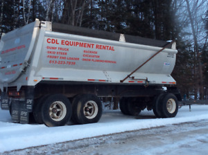 Raglan 20ft Dump Trailer
