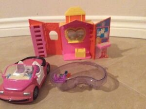 Polly Pocket Horse Ranch, Car and Hot Tube Kitchener / Waterloo Kitchener Area image 1
