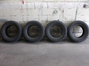FOUR 225/65R16 GOODYEAR NORDIC WINTER TIRES