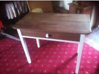 Old village hall desk