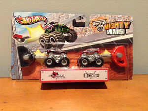 HOT WHEELS MONSTER JAM MIGHTY MINIS.....BRAND NEW! West Island Greater Montréal image 1