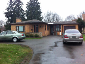 MODERN HOME FOR SUMMER SUBLET, WITHIN WALKING DISTANCE TO UWO