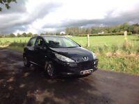 24/7 Trade sales NI Trade Prices for the public 2005 Peugeot 307 1.6 S Black 5 door full mot